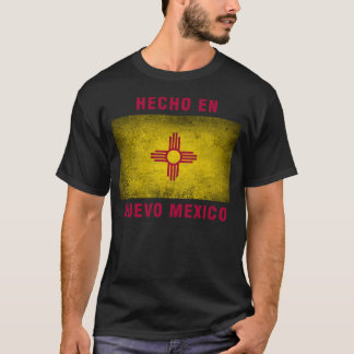 T - Shirt - Flagge Hecho en Nuevo Mexiko