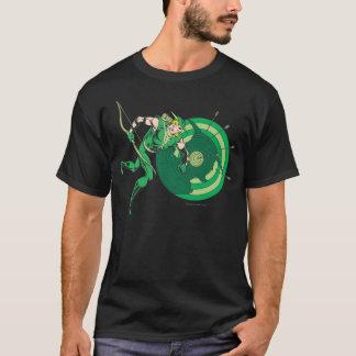 T-shirt Flèche verte avec la cible 2