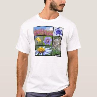 T-shirt fleurs des Alpes français