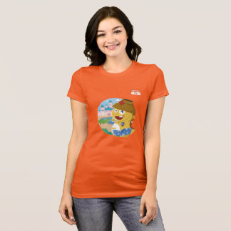 T - Shirt Floridas VIPKID (orange)