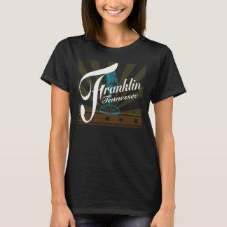 T - Shirt Franklins Tennessee mit Strahlen u.