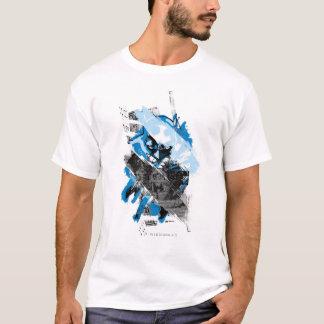 T-shirt Futur montage de paysage urbain de Batman