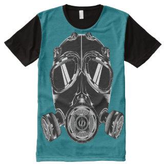T-Shirt ganz über Masken-Blauente T-Shirt Mit Bedruckbarer Vorderseite