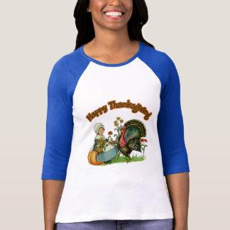 T - Shirt - glücklicher Erntedank