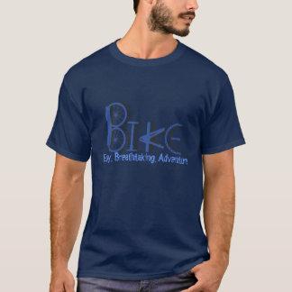 T-shirt Graffiti des pièces de vélo avec des mots de