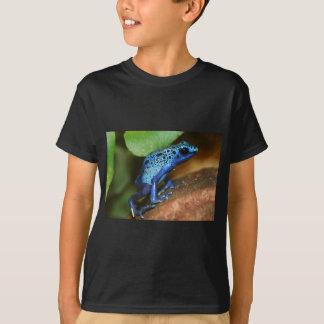 T-shirt grenouille bleue de flèche de poison