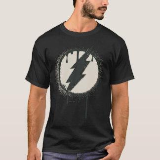 T-shirt Grunge instantanée de peinture de boulon