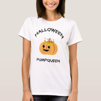 T-Shirt Halloweens Pumpqueen