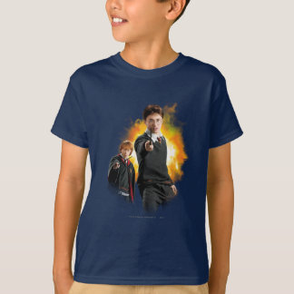 T-shirt Harry Potter et Ron Weasely