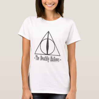 T-shirt Harry Potter | le de mort sanctifie l'emblème
