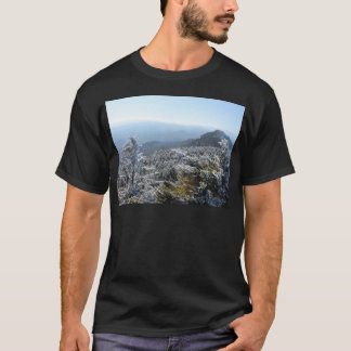 T-shirt Hiver de Blue Ridge Mountains