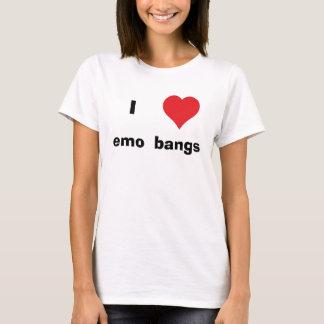 T-shirt I coups d'emo de coeur