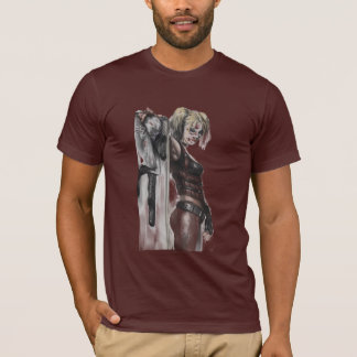 T-shirt Illustration de la ville | Harley Quinn de Batman