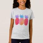 T-shirt in feinem Jersey für Mädchen Ananas