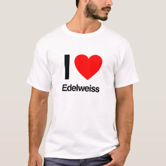 T-shirt j'aime l'edelweiss