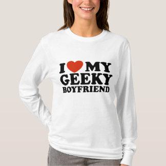 T-shirt J'aime mon ami Geeky
