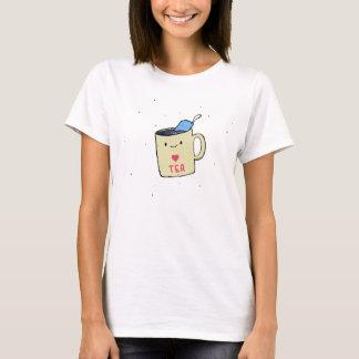 """T-shirt """"Je chemise et habillement aime thé"""""""