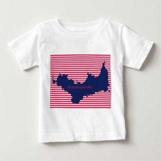 T-shirt Jersey Feinkohle für Baby