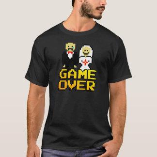 T-shirt Jeu au-dessus du mariage (à 8 bits)