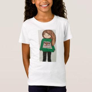 T-Shirt Joyeux Noël de petite fille