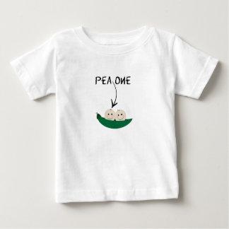 T-shirt jumeau pour deux pois dans une cosse !