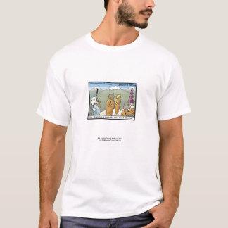 T-shirt Katmandu et pièce en t drôle des hommes de bande
