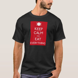 T-shirt Keep Calm and Eat