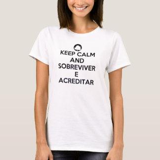 T-shirt - Keep Calm Fresno