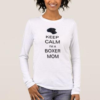 T-SHIRT KEEP CALM I'M A BOXER MOM