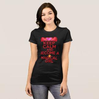 T-shirt Keep Calm Magical Girl