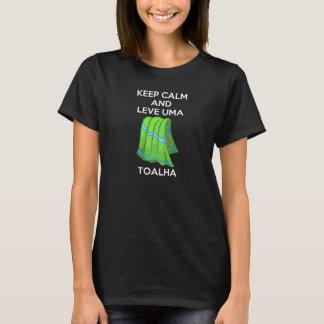 T-shirt - Keep Calm Mochileiro des Galaxies