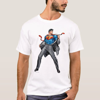 T-shirt Kent change en Superman