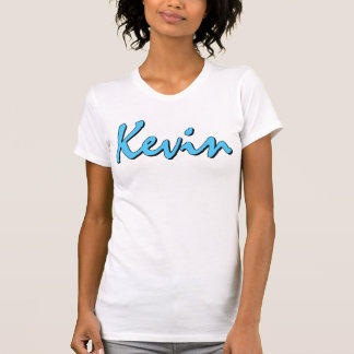 T-Shirt Kevins (blau auf Weiß) Frauen