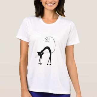 T-shirt Kitty fantaisie noir 9