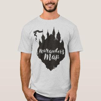 T-shirt La carte du maraudeur de château de Harry Potter |