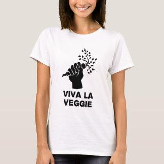 T-shirt La de vivats végétarienne