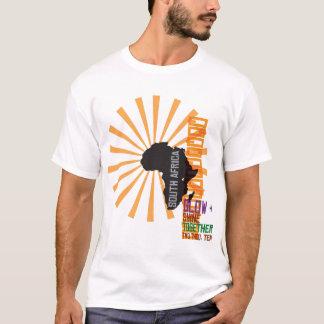T-shirt L'Afrique pour l'Afrique par Dssengendo - éclat