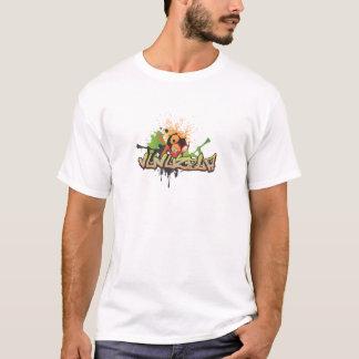 T-shirt L'Afrique pour l'Afrique par G1Media - orange de