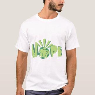 T-shirt L'Afrique pour l'Afrique par Kihiko - espoir