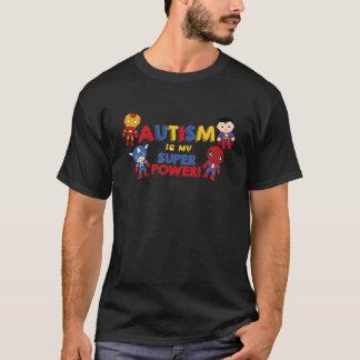 T-shirt L'autisme est mon super pouvoir