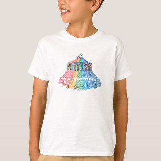 T-shirt L'autisme est un spectre