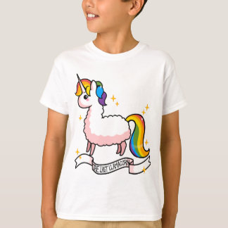 T-shirt Le dernier Llamacorn