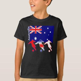 T-shirt Le football Australie