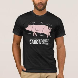 T-shirt Le lard est diagramme drôle de boucher de porc de