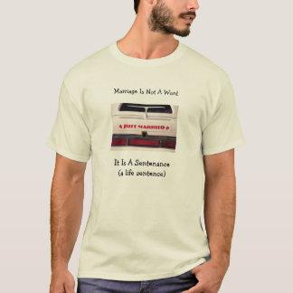 T-shirt Le mariage n'est pas