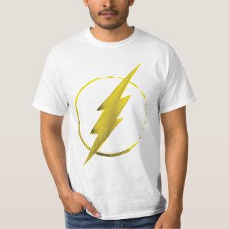 T-shirt L'emblème   jaune instantané de coffre