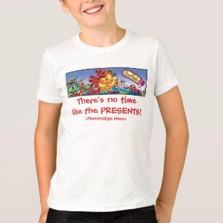 T-shirt Les vacances de Garfield Logobox présentent le