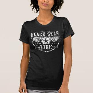 T-shirt Ligne noire d'étoile