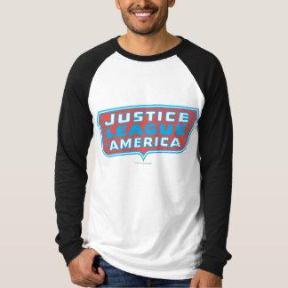 T-shirt Ligue de justice de logo de l'Amérique