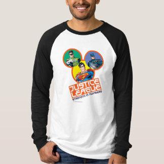"""T-shirt Ligue de justice """"force dans les nombres """""""